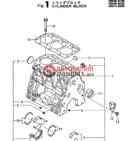Yanmar Engine 3tn84l Rbs F Yb271 B Parts Catalog Auto