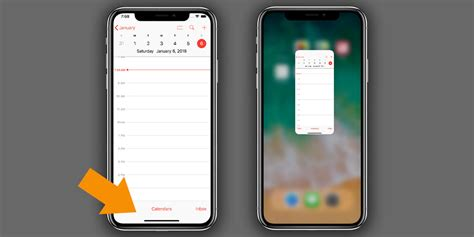 how to go to the home screen on iphone x
