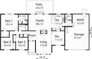 Single Level Floor Plans Single Level House Plans 3 Bedroom 2 Bath House Plans