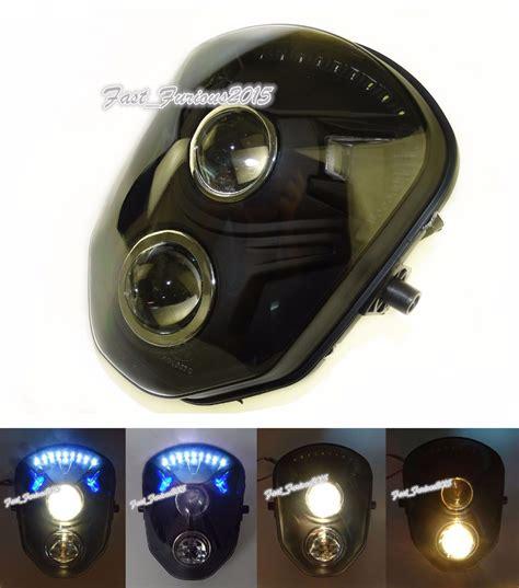 moto doppio proiettore frontale lada frontale lada della luce testa ladina per