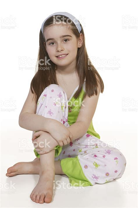 little girls little girl in pyjamas stock photo 172289696 istock