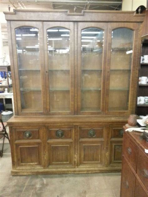 china cabinet with lights vintage large china cabinet with display lights