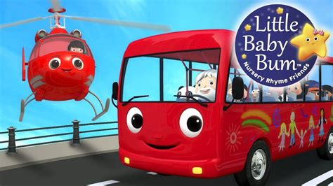bysabys bys a bys wheels on the bus part 13 nursery rhymes by