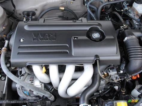 2000 Toyota Corolla Engine 2000 Toyota Corolla Ce 1 8 Liter Dohc 16 Valve 4 Cylinder