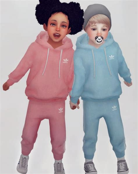 sims 4 custom content toddler kk sims jogger set for toddler sims 4 downloads