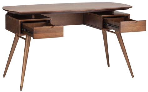 Carel Desk In Walnut Modern Classic Desks Home And Walnut Desk