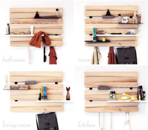 remlshelf artistic and space saving wood shelving digsdigs