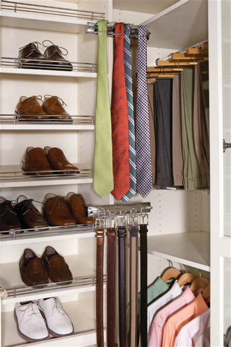 Tie Hangers For Closets by Closet Tie And Belt Racks Other Metro