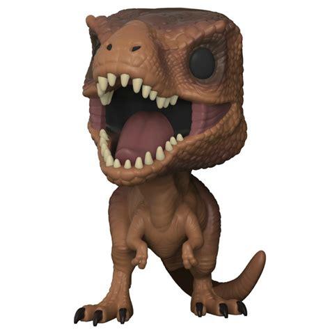 t figure funko pop vinyl jurassic park tyrannosaurus rex figure