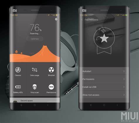 black or darker theme for miui 8 6 7 7 pg 2 xiaomi daily download soundrenaline is an elegant black and gold