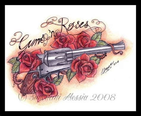 gun n roses tattoos design pictures by bernard mccarthy