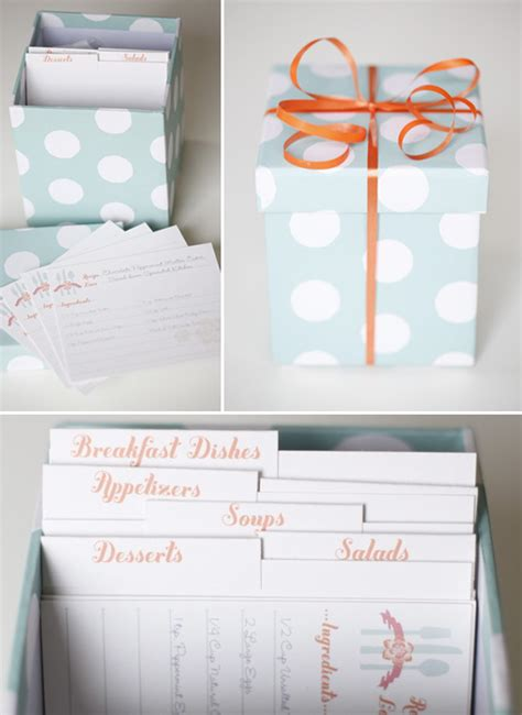 Bridal Shower Recipes by Bridal Shower Recipe Cards Template 1277