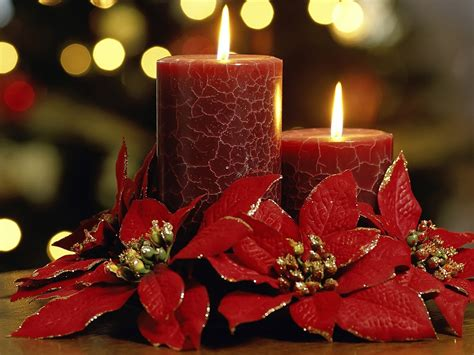 wallpapers: Christmas candles
