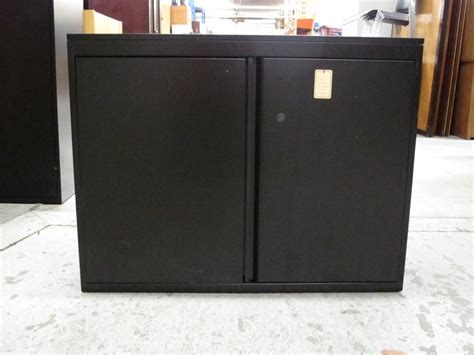 Black Metal Storage Cabinet by Door Melamine Storage Cabinet Black Shoe