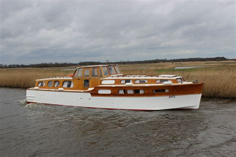 motor boats for sale on the norfolk broads a classic 1950s wooden broads cruiser available to hire on