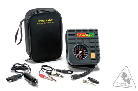 stop go portable mini air compressor twistedthrottle