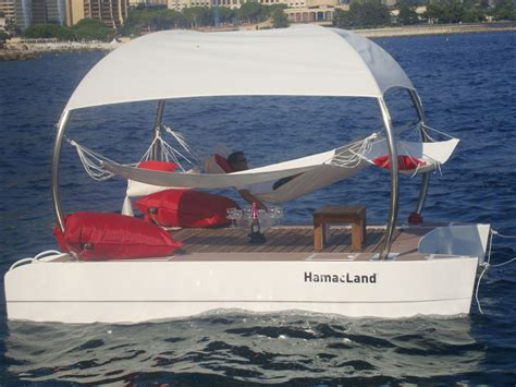 Hamac Concept by Floating Lounge With Hamac Concept