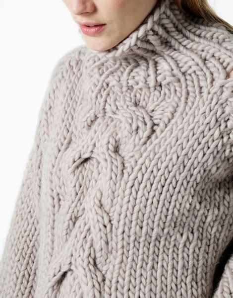 knitting pattern understanding the understanding of a knit cable sweater