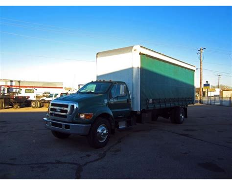 curtain side van for sale 2007 ford f 750 curtain side van for sale salt lake city