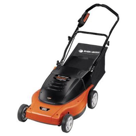 black decker electric mower black decker mm875 lawn hog electric lawn mower