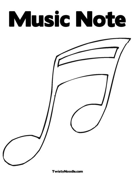 Best Photos Of Music Note Template Printable Music Note Pattern Template Music Note Stencils Best Templates For Musicians