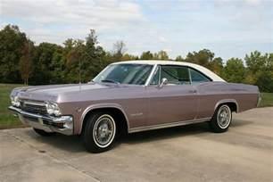 1965 chevrolet impala 2 door hardtop 81590