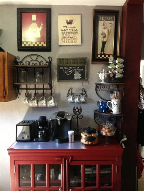 kitchen coffee bar ideas coffee bar in your kitchen design fresh design pedia