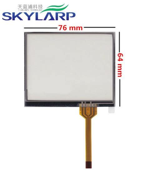 Touch Touchscreen Cina 3 5 Inch 701308 3 5 inch 4 wire 76mm 64mm resistive touch screen digitizer for gps navigator mp4 mp5 lcd touch