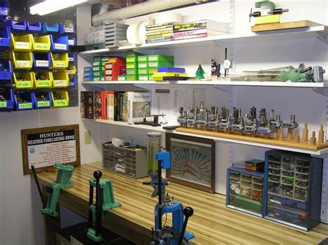 reloading bench setup show us your reloading bench second adm pinterest