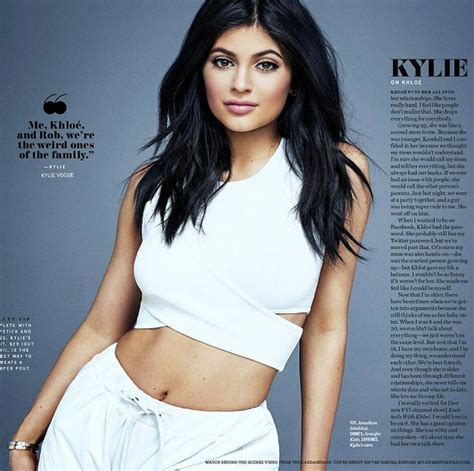 khloe kardashian supports kylie jenner during her big lips drama kylie jenner talks about her great relationship with big
