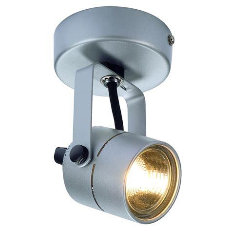 led spot wandleuchte deckenleuchte spot 79 gu10 230v 1 flammig aluminium