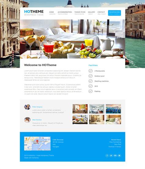 themes wordpress hotel 10 best free hotel wordpress themes 2017 designmaz