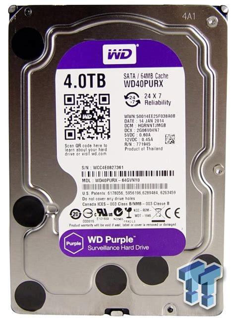 Hardisk Wd Purple 1tb Harga western digital purple surveillance storage 4tb hdd review