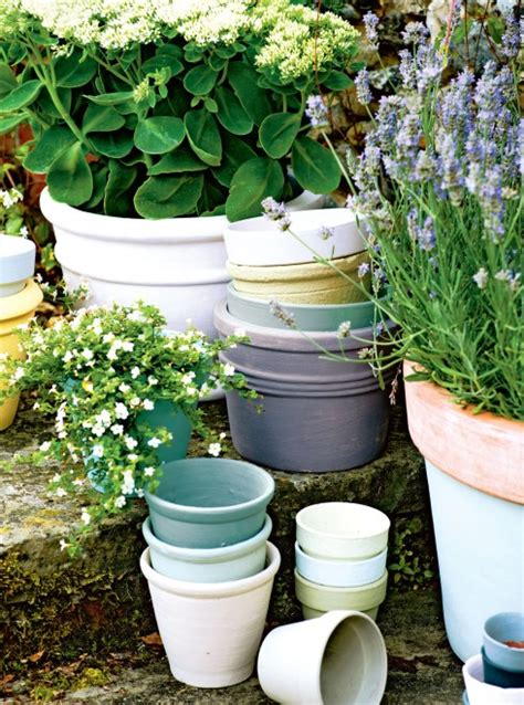 Planters Bank Routing Number by Make Pretty Pastel Flowerpots For Your Garden Chatelaine