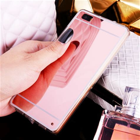 For Iphone Sale Tpu Casing Luxury Mirror Soft Silikon aliexpress buy luxury mirror electroplating soft clear tpu cases cover for huawei p8 p8