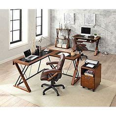 axis cherry desks and corner stand 90 90 80 staples