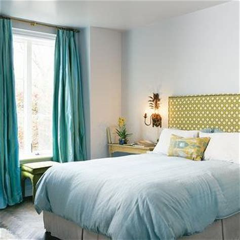 turquoise bedroom curtains turquoise drapes contemporary nursery jenn feldman