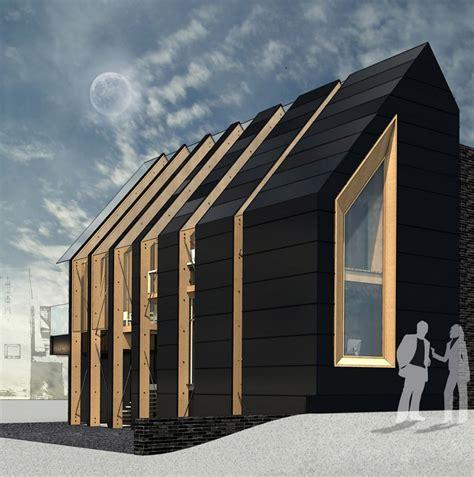 gutterless roofs home design forum roof house