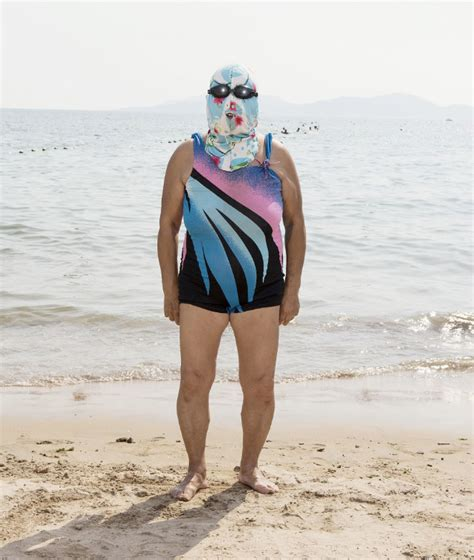 The Dress That Refuses To Die by Facekini The Swimwear Trend That Refuses To Die