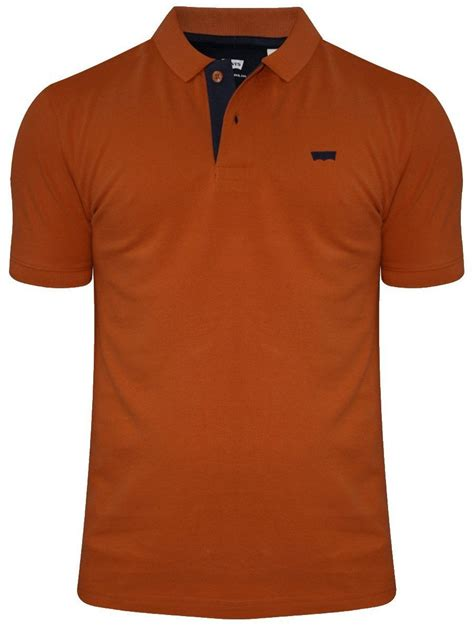 Polo Shirt Levis Solid buy t shirts levis rust polo t shirt 17474 0026