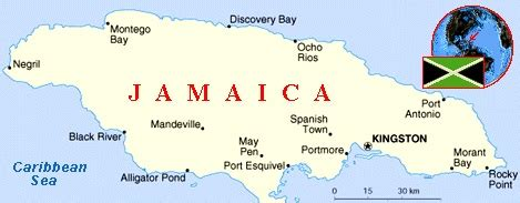 map world jamaica jamaica map travel around the world vacation reviews