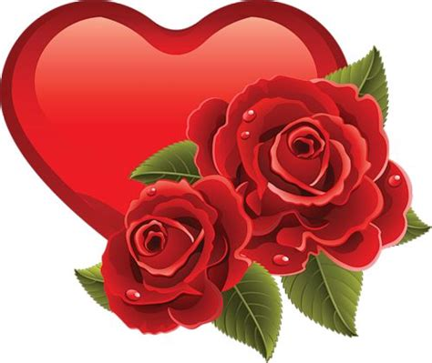 roses and hearts and roses clip hearts clipart