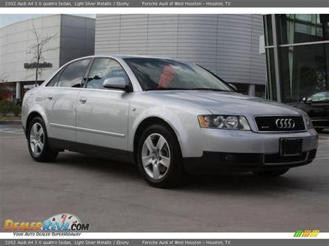 2002 Audi A4 3 0 by 2002 Audi A4 3 0 Quattro Sedan Light Silver Metallic