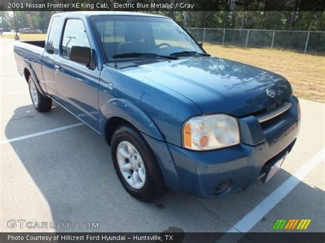 electric and cars manual 2001 nissan frontier interior lighting electric blue metallic 2001 nissan frontier xe king cab gray interior gtcarlot com
