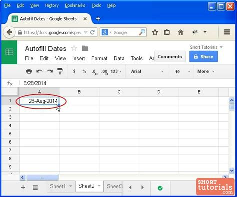 Spreadsheet Autofill by How To Increment Autofill Dates In Docs Spreadsheet