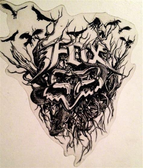 fox racing tattoo fox racing designs collection