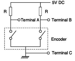pull up resistor for encoder pull up resistor encoder 28 images sensor workshop at itp reports rotary encoder using paul