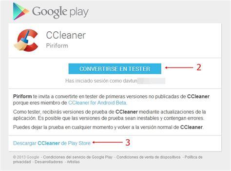 ccleaner beta ccleaner llega a android en versi 243 n beta la mejor