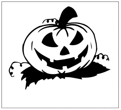 Scary Halloween Pumpkin Coloring Pages Coloring Scary Pumpkin Page To Color