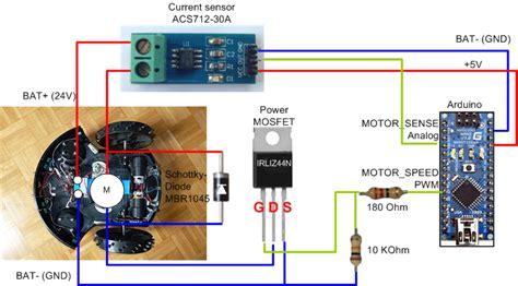 arduino high power motor driver for robots etc 30a